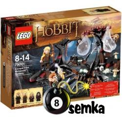 LEGO HOBBIT 79001 UCIECZKA PRZED PAJĄKAMI