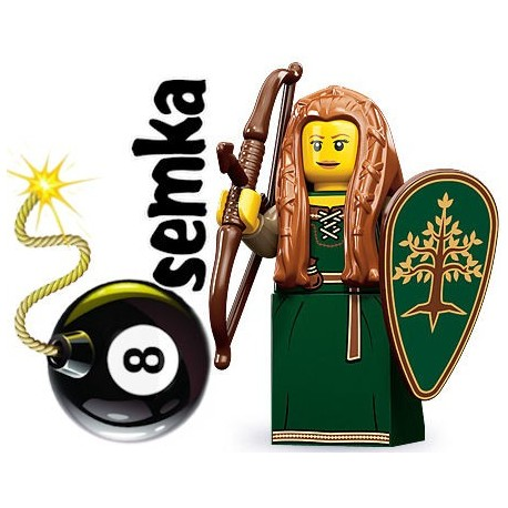 LEGO Minifigures 71000 KOBIETA ELF