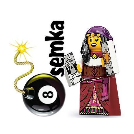 LEGO Minifigures 71000 KOBIETA JASNOWIDZ