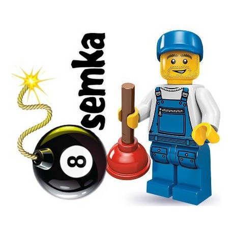 LEGO Minifigures 71000 HYDRAULIK