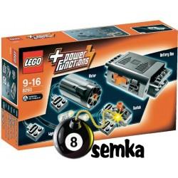 LEGO TECHNIC 8293 ZESTAW AKUMULATORÓW SILNICZKI