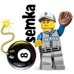 LEGO Minifigures 71001 BEJSBOLISTA