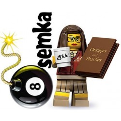 LEGO Minifigures 71001 BIBLIOTEKARKA