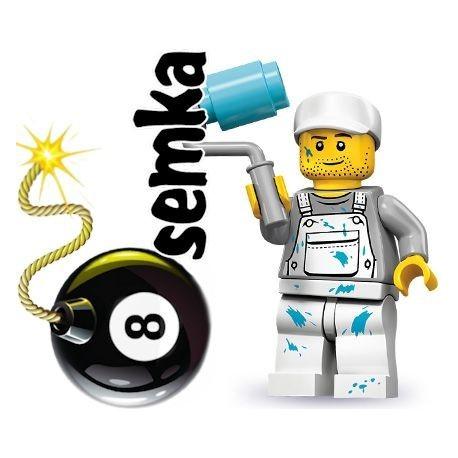 LEGO Minifigures 71001 MALARZ