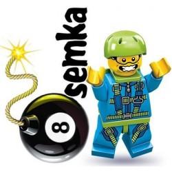 LEGO Minifigures 71001 SPADOCHRONIARZ