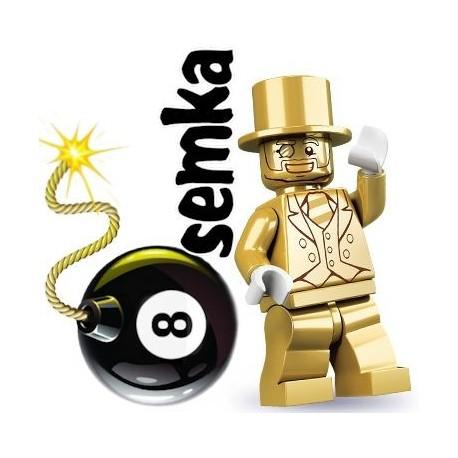 LEGO Minifigures 71001 ZŁOTY PAN