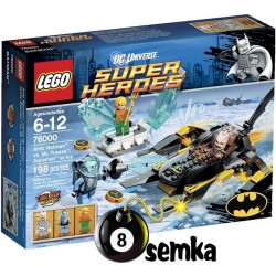 LEGO SUPER HEROES 76000 BATMAN KONTRA MR.FREEZE AQUAMAN NA LODZIE