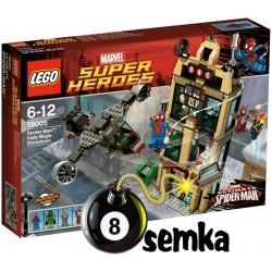 LEGO SUPER HEROES 76005 SPIDER-MAN CODZIENNY POJEDYNEK
