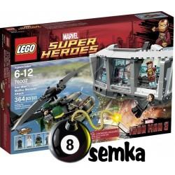 LEGO SUPER HEROES 76007 IRON MAN ATAK NA POSIADŁOŚĆ W MALIBU