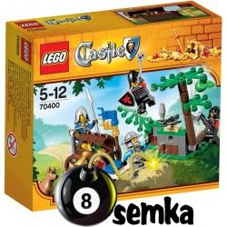 Zestaw LEGO CASTLE 70400 ZASADZKA W LESIE