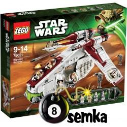 Zestaw LEGO STAR WARS 75021 REPUBLIC GUNSHIP