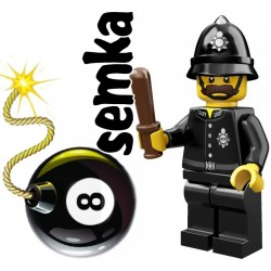 LEGO Minifigures 71002 ANGIELSKI POLICJANT