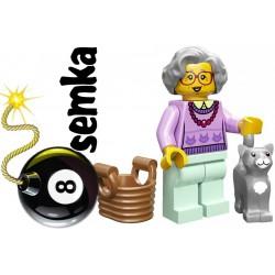 LEGO Minifigures 71002 BABCIA