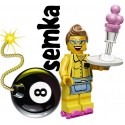 LEGO Minifigures 71002 KELNERKA NA WROTKACH