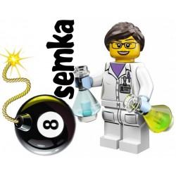 LEGO Minifigures 71002 PANI NAUKOWIEC