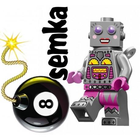 LEGO Minifigures 72001 PANI ROBOT
