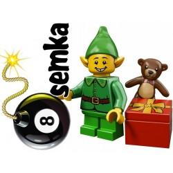 LEGO Minifigures 71002 ŚWIĄTECZNY ELF