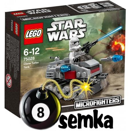 Zestaw LEGO STAR WARS 75028 CLONE TURBO TANK