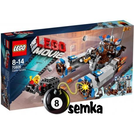 Zestaw LEGO THE MOVIE 70806 ZAMKOWA KAWALERIA