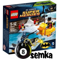 LEGO SUPER HEROES 76010 BATMAN STARCIE Z PINGWINEM