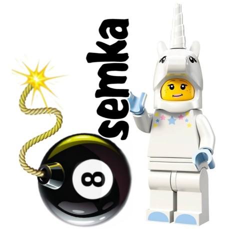 LEGO Minifigures 72008 JEDNOROŻEC
