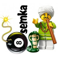 LEGO Minifigures 72008 ZAKLINACZ WĘŻY