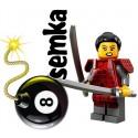 LEGO Minifigures 71008 SAMURAJKA