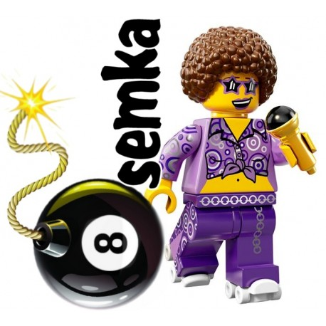 LEGO Minifigures 72008 DISCO LADY