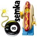 LEGO Minifigures 71008 CZŁOWIEK HOT DOG