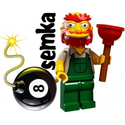 LEGO Minifigures 71009 GROUNDSKEEPER WILLIE