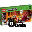 LEGO MINECRAFT 21122 FORTECA NETHERU