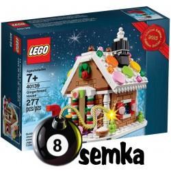 LEGO 40139 CHATKA Z PIERNIKA