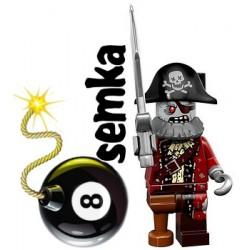 LEGO Minifigures 71010 PIRAT ZOMBI