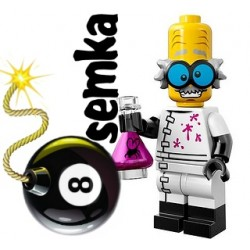 LEGO Minifigures 71010 NAUKOWIEC