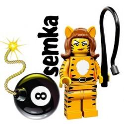 LEGO Minifigures 71010 KOBIETA TYGRYS