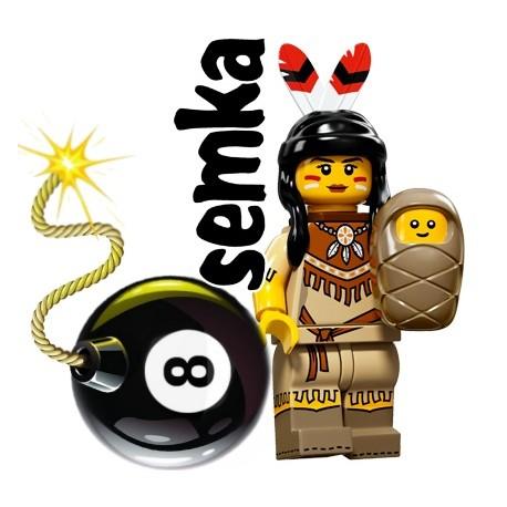 LEGO Minifigures 71011 INDIANKA