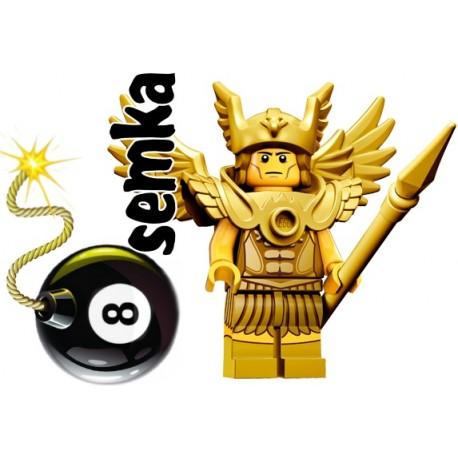 LEGO Minifigures 71011 LATAJĄCY WOJOWNIK