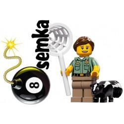 LEGO Minifigures 71011 STRAŻNICZKA ZWIERZĄT