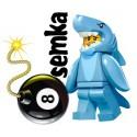 LEGO Minifigures 71011 CZŁOWIEK REKIN