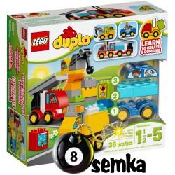 LEGO DUPLO 10816 MOJE PIERWSZE POJAZD