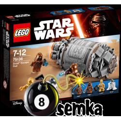 LEGO STAR WARS 75136 KAPSUŁA RATUNKOWA