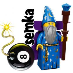 LEGO Minifigures 71007 DOBRY CZARODZIEJ