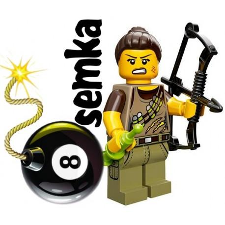LEGO Minifigures 71007 ŁOWCA DINOZAURÓW