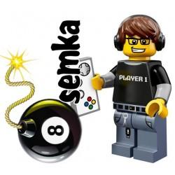 LEGO Minifigures 71007 GRACZ NA KONSOLI
