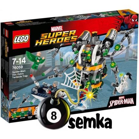 LEGO SUPER HEROES 76059 PUŁAPKA Z MACKAMI DOC OCKA