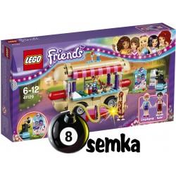 LEGO Friends 41129 FURGONETKA Z HOT DOG-AMI W PARKU