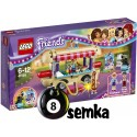 LEGO Friends 41129 FURGONETKA Z HOT DOG-AMI W PARKU