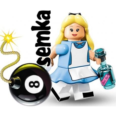 LEGO 71012 MINIFIGURES 15 ALICJA W KRAINIE CZARÓW DISNEY