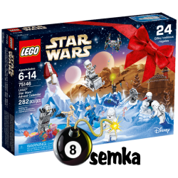 Lego STAR WARS 75146 KALENDARZ ADWENTOWY