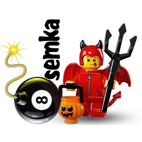 LEGO 71013 MINIFIGURES 16 MAŁY DIABEŁEK